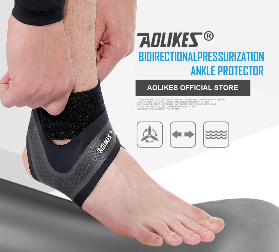Đai quấn bảo vệ mắt cá chân chống lật cổ chân Aolikes A-7130